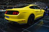 2015 Ford Mustang at the Geneva Motor Show — Stock Photo