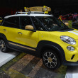 Постер, плакат: Fiat 500L Trekking Street Surf concept car at the Geneva Motor Show