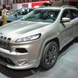 Постер, плакат: Jeep Cherokee at the Geneva Motor Show
