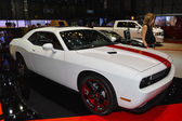 Dodge Challenger at the Geneva Motor Show — Stock Photo