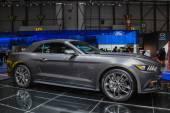 Ford Mustang convertible at the Geneva Motor Show — Stock Photo