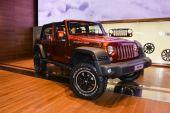 Jeep Wrangler Rubicon at the Geneva Motor Show — Stock Photo