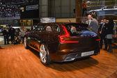 Volvo ES Concept at the Geneva Motor Show — Stock Photo