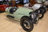 Morgan Three Wheeler at the Geneva Motor Show — Stock Photo