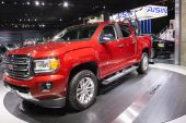 North American International Auto Show 2015 — Stock Photo