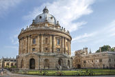 Oxford, UK - August 27, 2014: view of the Radcliffe Camera with All Souls College in Oxford, UK. The historic building is part of Oxford University Library. — Stock Photo
