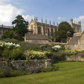 Christ Church Cathedral, Oxford — Stockfoto