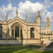 Oxford Magdalen College — Stock Photo