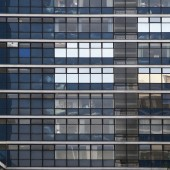 Office building background — Stock Photo