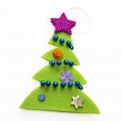 Christmas fir-tree — Stock Photo