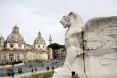 Venice square in Rome — Stock Photo