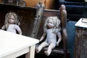 Vintage dolls — Stock Photo