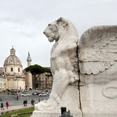 ROME JUNE 29, 2014: View of Venice square in Rome on JUNE 29, 2014 — Stock Photo