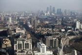 Letecký pohled na Londýn — Stock fotografie