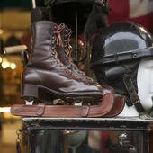 Wooden ice skates — Stock fotografie