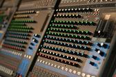 Professional Sound mixer — Stock Photo
