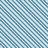 Blue sea diagonal stripes seamless pattern — Stock Vector