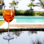 Glass of Aperol Spritz — Stock Photo #53125433