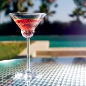 Glass of cocktail — Stock Photo