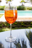 Glass of Aperol Spritz — Stock Photo