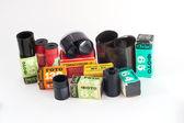 Camera film roll — Stock Photo