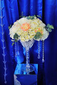 Wedding decor with flowers — ストック写真