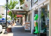 Main street in Roswell — Stock Photo