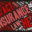Word Cloud - Health Care Issues - Banner Dark — Vetor de Stock  #69327677