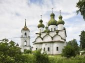Cathedral hill in Kargopol. Russia — Стоковое фото