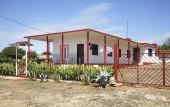 House in Rancho Luna. Caribbean Sea. Atlantic Ocean — Stock Photo