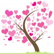 Tree of Love — Stock Vector