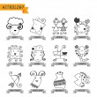 Astrologie — Stockvektor  #55149837