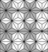 Pattern Hexagon — Stock Vector
