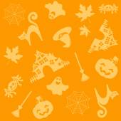 Halloween patroon — Stockvector
