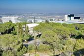 View of Haifa, Nesher, and the Krayot, Israel — Stock Photo