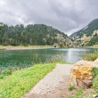Reservoir of Vall de Nuria — Stock Photo #56732375