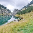 Reservoir of Vall de Nuria — Stock Photo #56732525