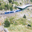 Rack railway of Vall de Nuria, Spain — Stock Photo #56733255