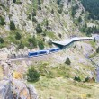 Rack railway of Vall de Nuria, Spain — Stock Photo #56733273