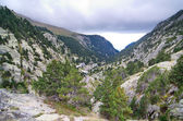 Vall de Nuria  in the Pyrenees Mountains in Catalonia, Spain — Stock Photo