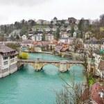 Swiss capital city of Bern, Switzerland — Stock Photo #71732293