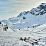 Lech Zurs ski resort, Arlberg, Tyrol, Austria — Stock Photo #71732613