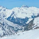 Lech Zurs ski resort, Arlberg, Tyrol, Austria — Stock Photo #71736915