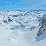 Lech Zurs ski resort, Arlberg, Tyrol, Austria — Stock Photo #71737359