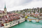 Swiss capital city of Bern, Switzerland — Stock Photo