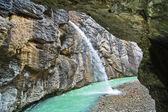 Gorges de l'Aar - Aareschlucht sur la rivière Aar — Photo