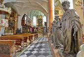 Hofkirche (Court Church)  in Innsbruck, Austria — Stock Photo