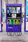 LOEI, february 22: PTT gas station on February 22, 2015 in  LOEI , Thailand. PTT is largest oil company in Thailand — Stock Photo