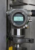Transmisor de presión de proceso de gas y petróleo — Foto de Stock