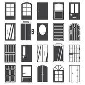 Door  icon Set — ストックベクタ